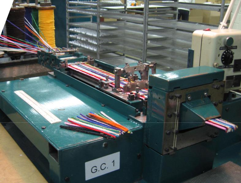 滚轮导轨在洗管条切割设备中的应用