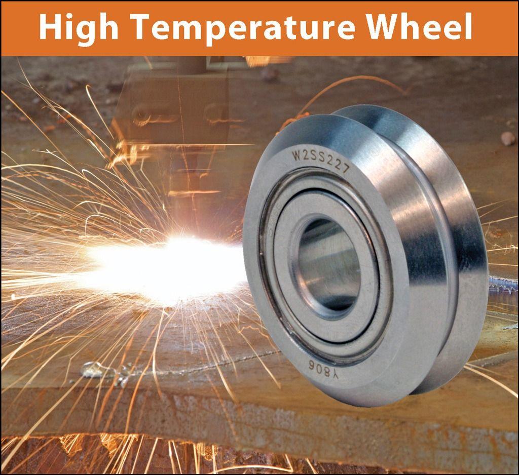 耐高温V形滚轮导轨