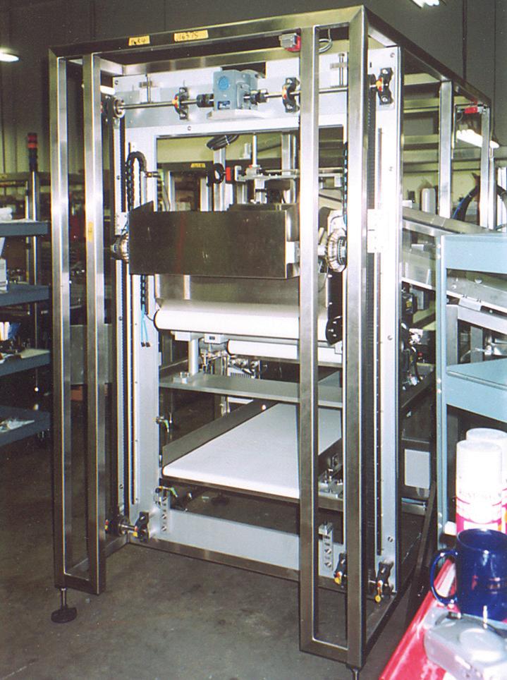 DualVee滚轮导轨在包装机械的应用